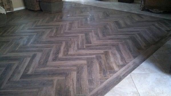 Marciano 6 x 36 porcelain tile wood plank design for Fabulous flooring