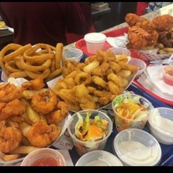 Sammy 39 s fish box bronx ny united states seafood for Sammy s fish box