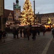 Weihnachtsmarkt, Leipzig, Sachsen, Germany