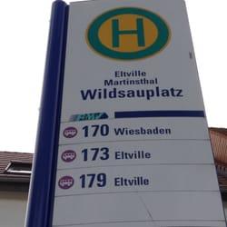 Wildsau-Platz, Eltville, Hessen, Germany