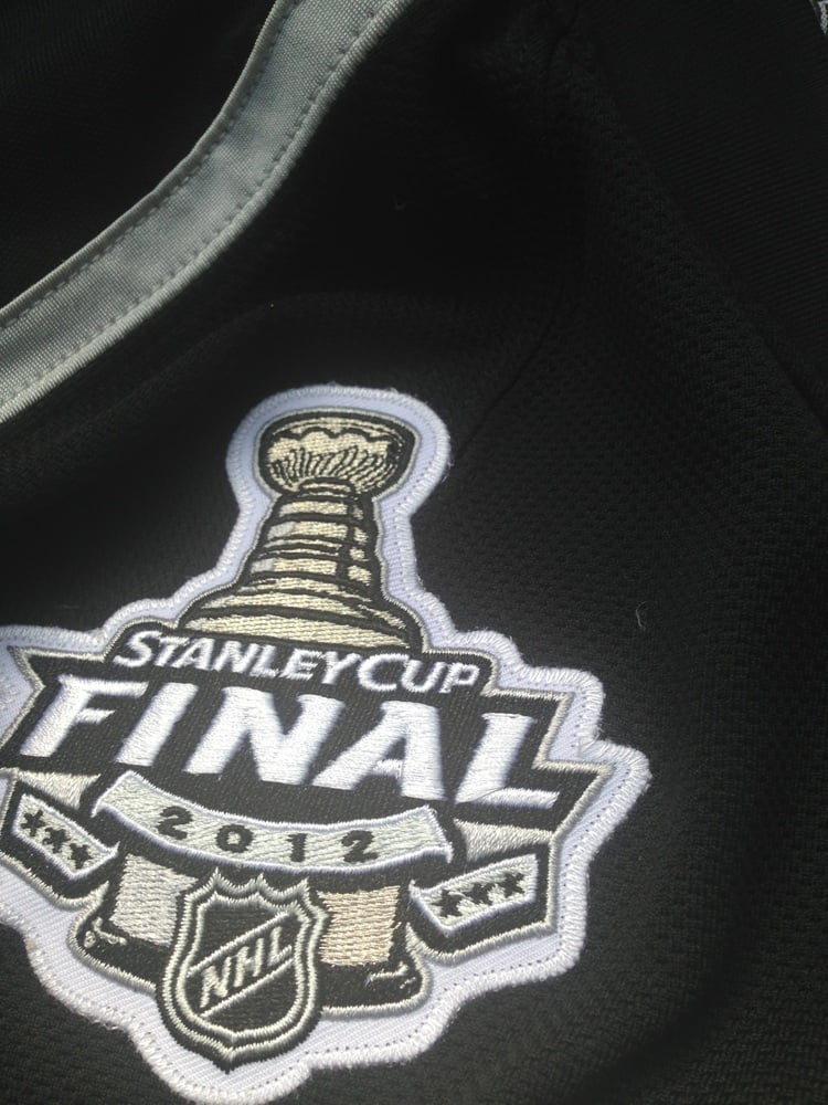 stanley cup final patch sewn onto an authentic jersey yelp