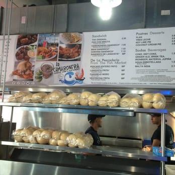 La camaronera seafood joint fish market little havana for Fresh fish market miami