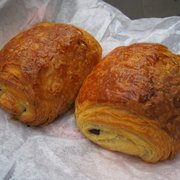 Delicious pain au chocolate--the best I've ever eaten.