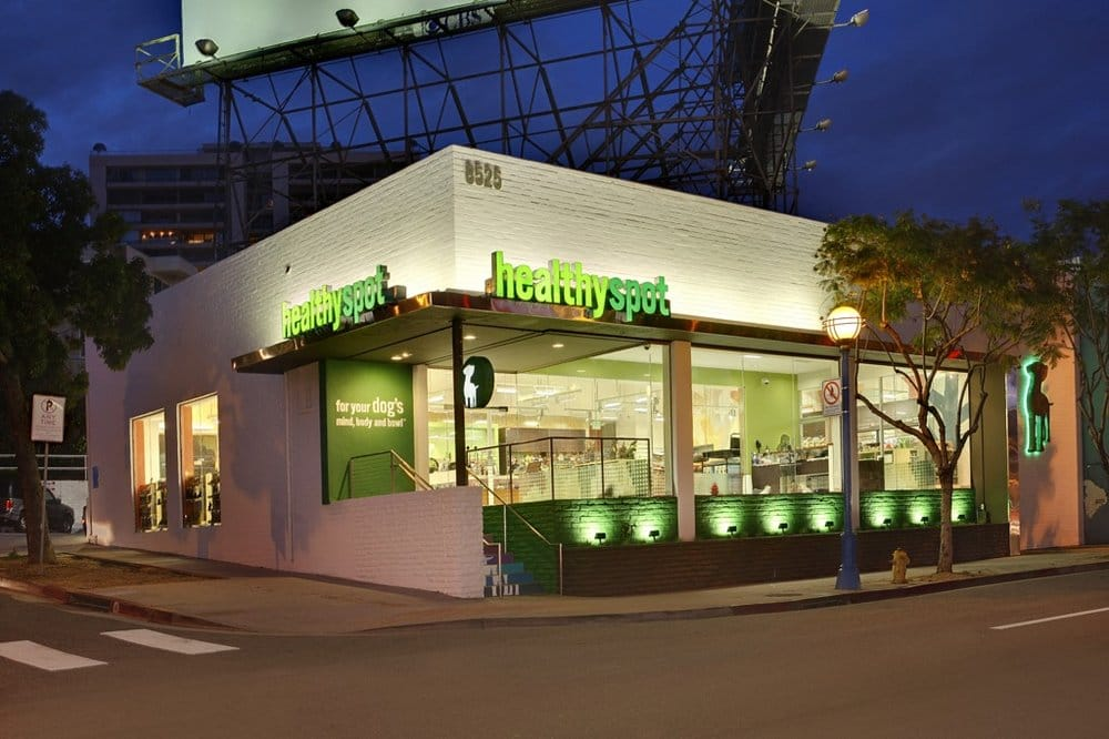 Healthy spot pet stores west hollywood west for Dog boarding santa monica