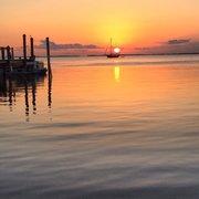 Snook's Bayside Restaurant - Sunset view from Snooks - Key Largo, FL, Vereinigte Staaten