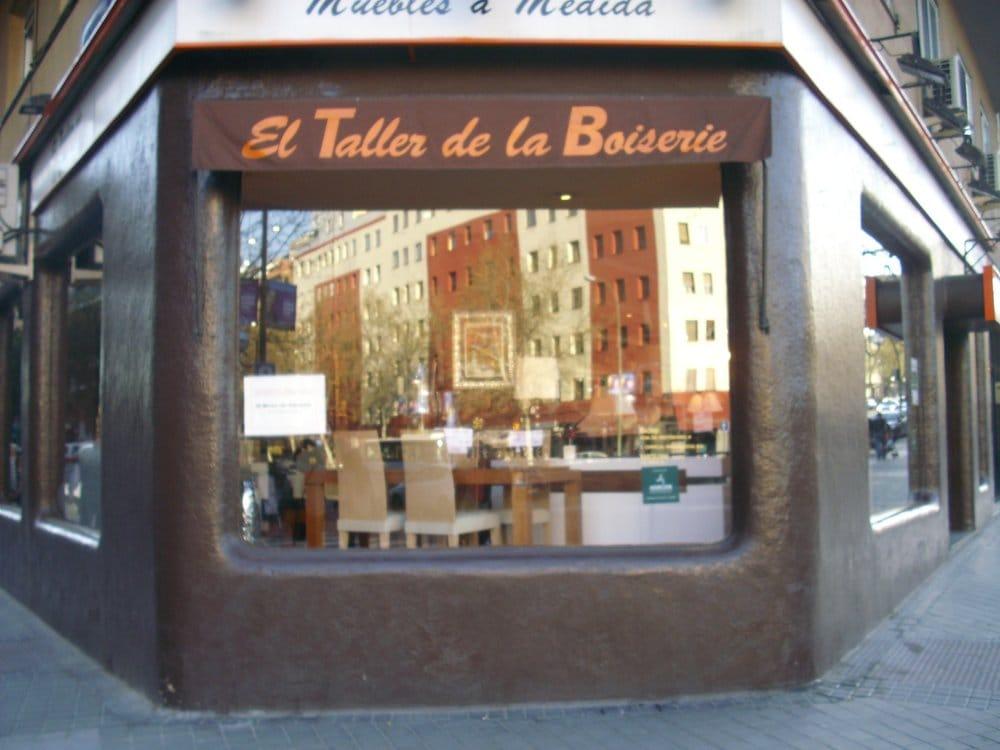 El taller de la boiserie furniture stores retiro for Furniture stores madrid