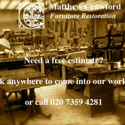 Matthew Crawford Furniture Restoration, London