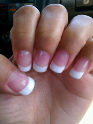 First Class Nails - Gel french manicure - Pensacola, FL, United States
