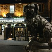 Greyfriars Bobby, Edinburgh, UK