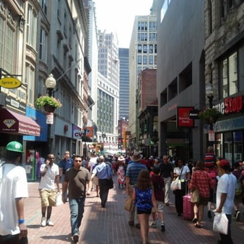 Downtown Crossing Boston Shoe Stores