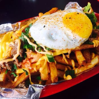 Cafe  Kimchi Fries Review