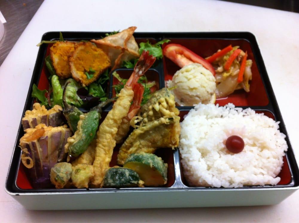 Traditional Japanese Tempura bento box | Yelp