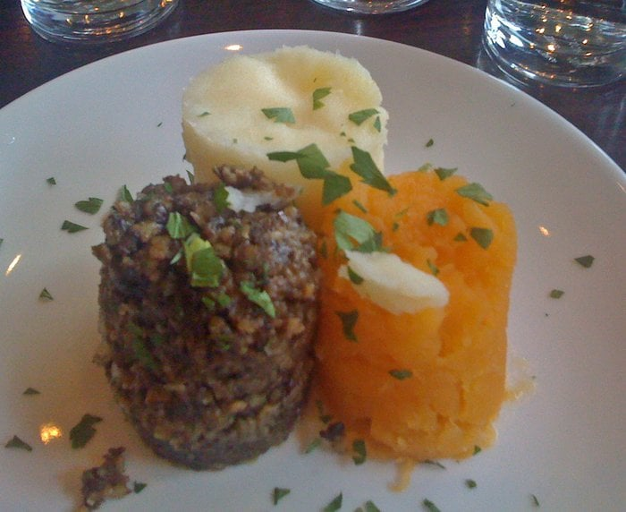 haggis neeps and tatties starter recipe images