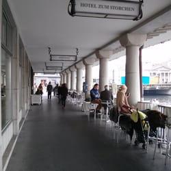 The corridor cafe.