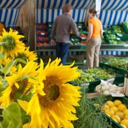 Demeter Gemüse, Kräuter und Salate.