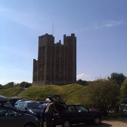 Orford Castle English Heritage, Woodbridge, Suffolk