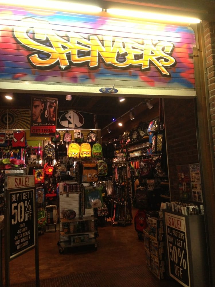 my trip to the spencers gifts shop