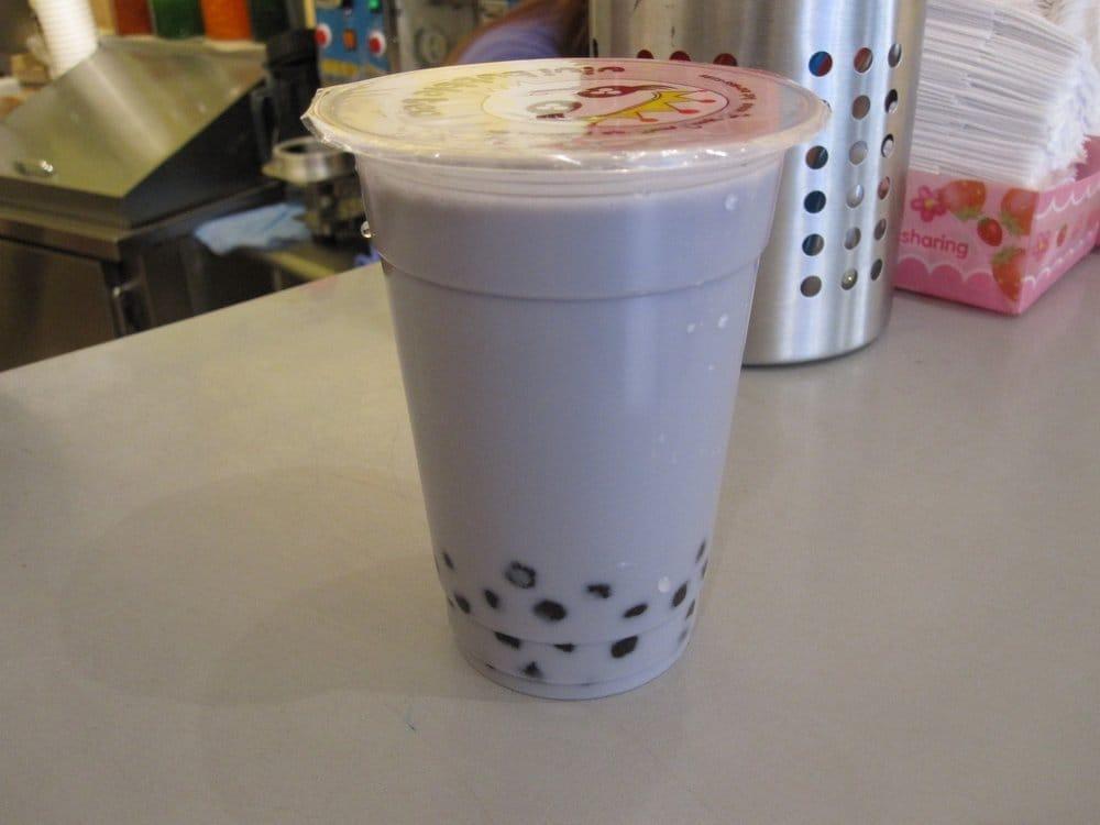 Quickly Taro Bubble Tea 16 oz Taro Milk