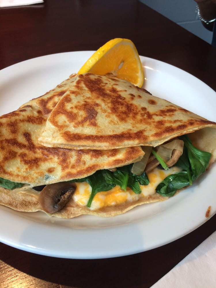 Crepes No Ka 'Oi - Kailua, HI, United States. The Vegetarian...it's delicious!