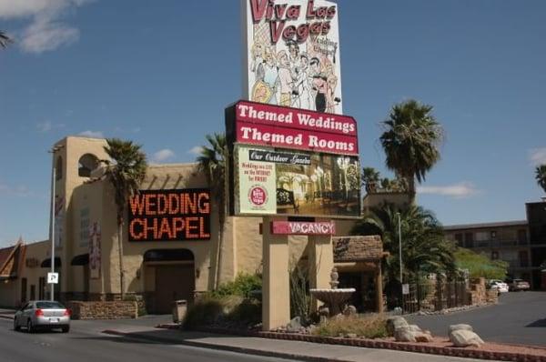 Viva las vegas wedding chapels inc 137 photos venues for Wedding chapels in las vegas nevada