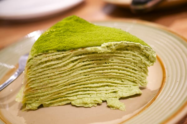 Lady M Cake Boutique - Green Tea Mille Crepes Cake - New York, NY, Vereinigte Staaten