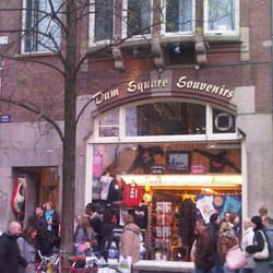 Dam Square Souvenirs, Amsterdam, Noord-Holland, Netherlands
