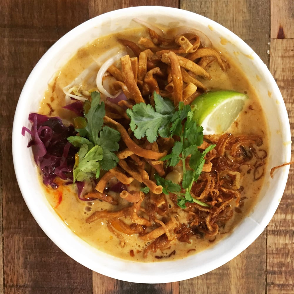 Chicken Khao Soi from Noodle Tramp. | Yelp