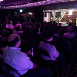 Inside Soho comedy Club
