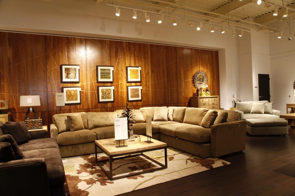 Reclaimed Wood Wall In Showroom Yelp