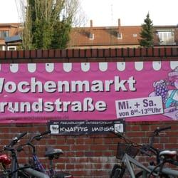 Wochenmarkt Grundstraße, Hamburg, Germany