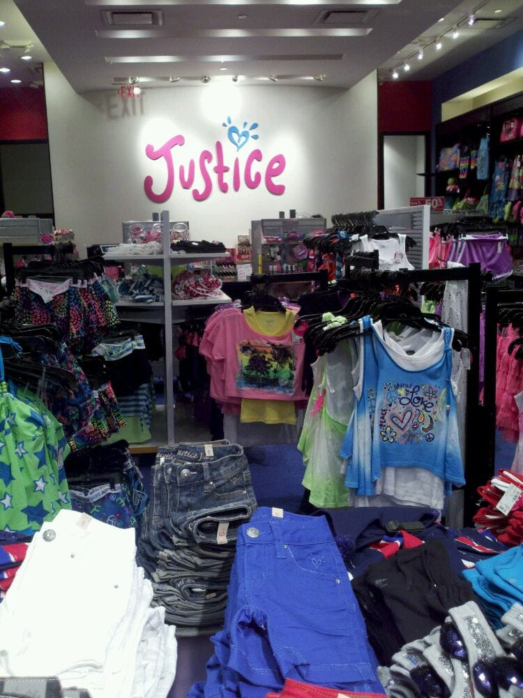 Justice Store In Glendale Galleria Mall Glendale Ca Yelp