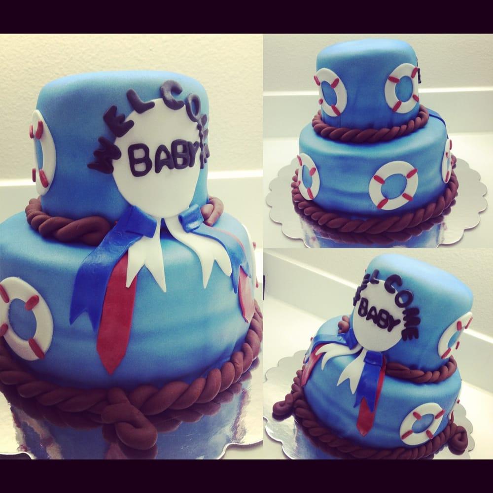 cakes san diego ca united states nautical theme baby shower cake