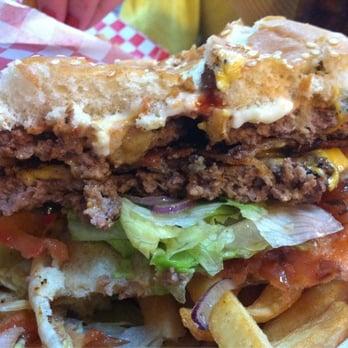 Patty S Burgers Milkshakes The Cake Burger