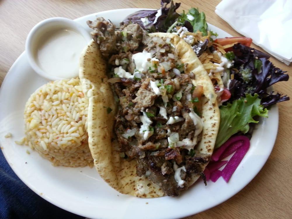 Beef Shawarma Platter Beef And Lamb Shawarma Plate