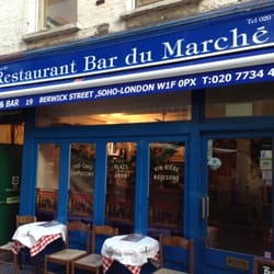 Bar Du Marché, London