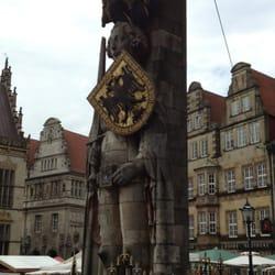 Bremer Roland auf dem Marktplatz