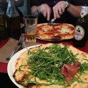 Maria Luisa - Paris, France. Pizza Parma Bianca