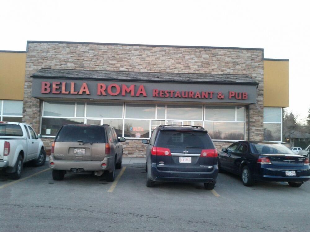Bella roma restaurant pizza calgary ab canada for Ristorante elle roma