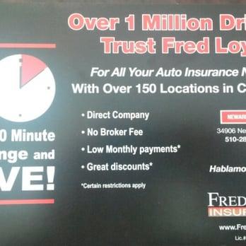 Fred Loya Insurance - Insurance - Newark, CA - Yelp