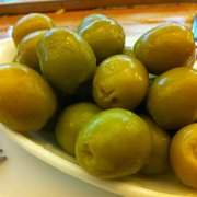 Fresh green olives come from the same…