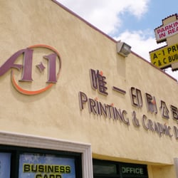 A 1 Printing & Graphic logo