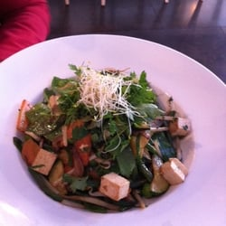 Wok de légumes tofu