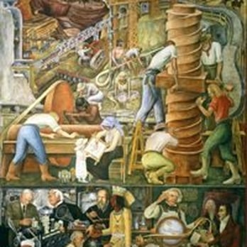 Diego rivera mural project westwood park san francisco for Diego rivera mural san francisco