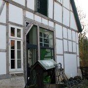 Das Tabakmuseum vom Innenhof aus…
