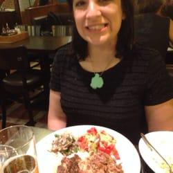 Carolyn at Hasir in Berlin.
