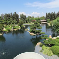 The Japanese Garden A View Of The Main Lake And Shoin
