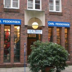 Carl Feddersen Sea Shop, Hamburg