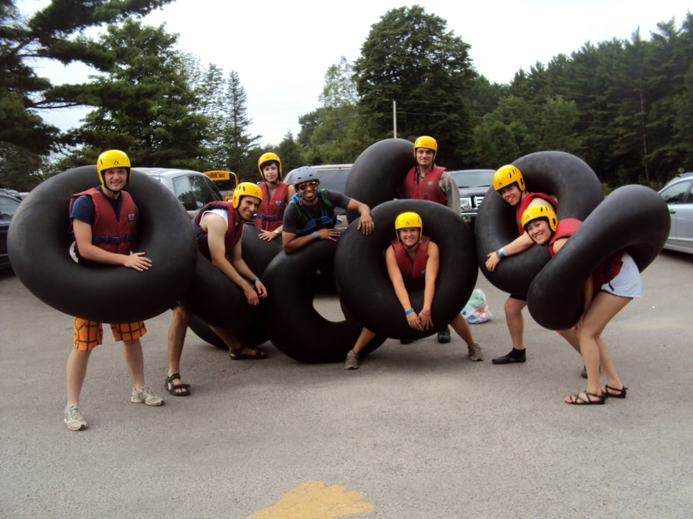 Elora (ON) Canada  City pictures : River Tubing Elora Gorge Conservation Area Elora, ON, Canada ...