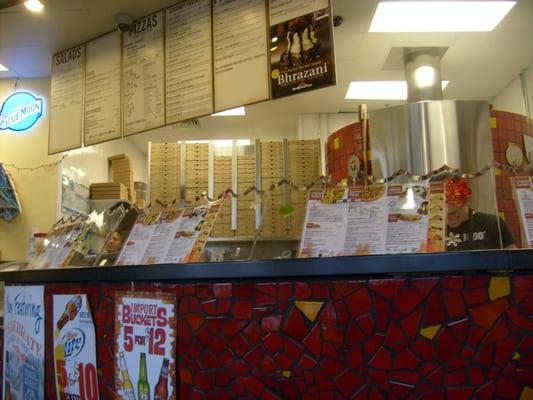 Red brick pizza panama city beach fl verenigde staten for Brick city motors reviews