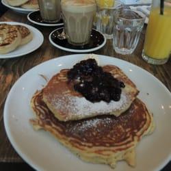 Huum... Les pancakes...